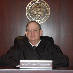 Oregon State Senior Judge Timothy P. Alexander