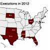 The Death Penalty in 2012: Year End Report - Executions in 2012